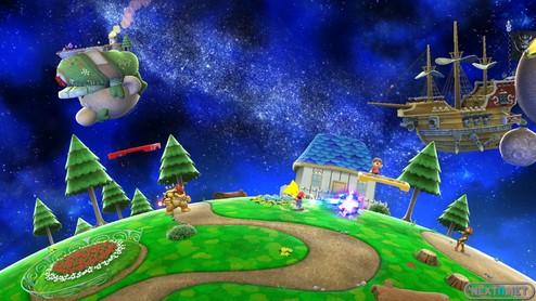 1311-15 Smash Bros Mario Galaxy Wii U 1