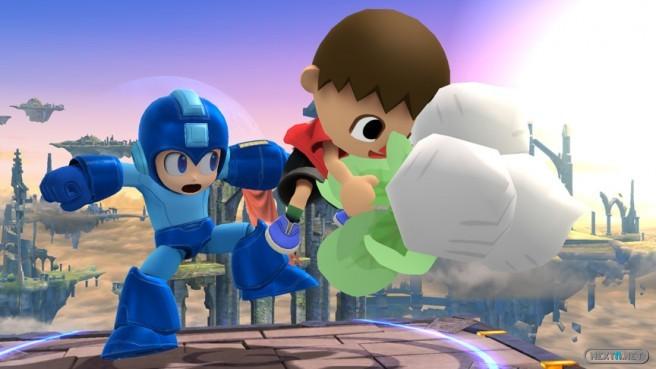 1312-02 Super Smash Bros. 3DS - Wii U Animal Crossing