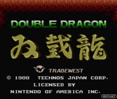 1312-12 Double Dragon NES