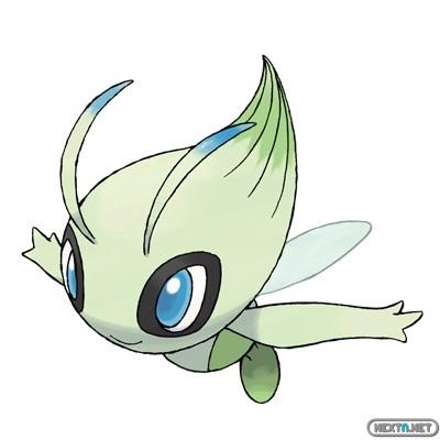 1312-18 Celebi Banco Pokémon