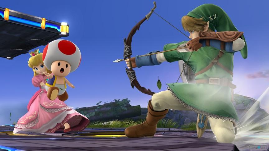 1312-18 Super Smash Bros. Peach vs Link