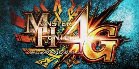 1401-26 Monster Hunter 4G Logo