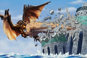 1403-12 One Piece Monster Hunter 4