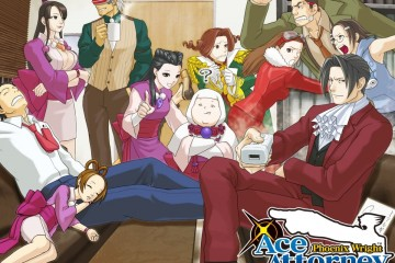 1403-13 Ace Attorney Trials and Tribulations art