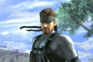 1403-14 Solid Snake Smash Bros.
