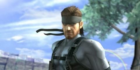 1403-14 Solid Snake Smash Bros.