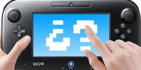 1403-15 Wii U GamePad juego misterioso