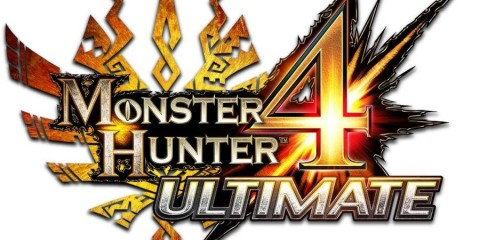 1403-26 Monster Hunter 4 Ultimate Logo