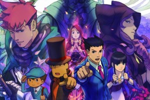 1403-28 Profesor Layton Vs Ace Attorney