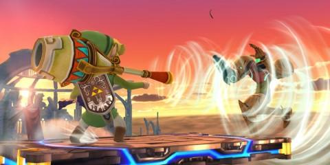 1404-02 Smash Bros. Ánfora de Aire Zelda