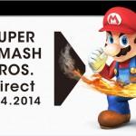 Anunciada Smash Bros. Direct para la medianoche del 9 de abril de 2014. Sakurai ¿qué estás tramando?
