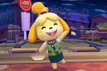 1404-04 Smash Bros. Canela Animal Crossing