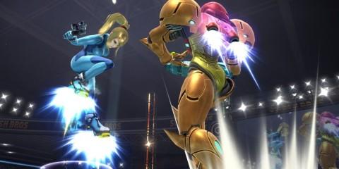 1404-10 Smash Bros. Samus botas propulsoras