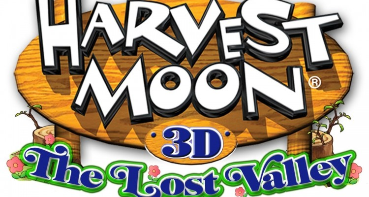 1406-03 Harvest Moon The Lost Valley logo