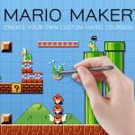 En Mario Maker compartirás niveles vía online y verás como son superados por otros jugadores