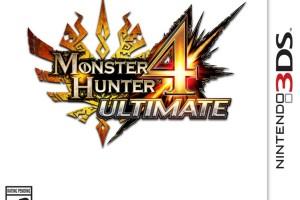 1406-11 Monster Hunter 4 Ultimate boxart