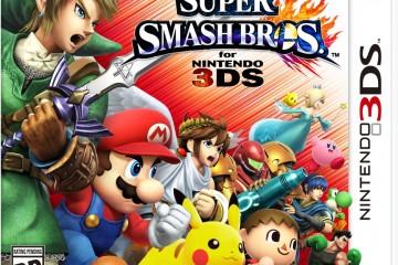 1406-11 Super Smash Bros. 3DS Boxart