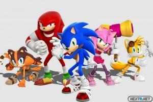 1406-23 Sonic Boom Wii U 3DS Plantilla Personajes 1