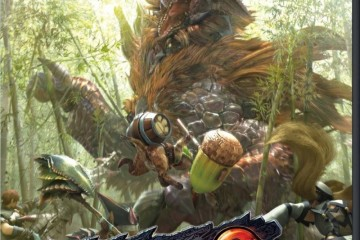 1407-04 Monster Hunter Frontier G5 boxart Wii U