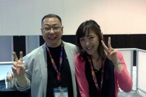 1407-12 Akiko Kuroda de Platinum Games junto Takashi Tezuka