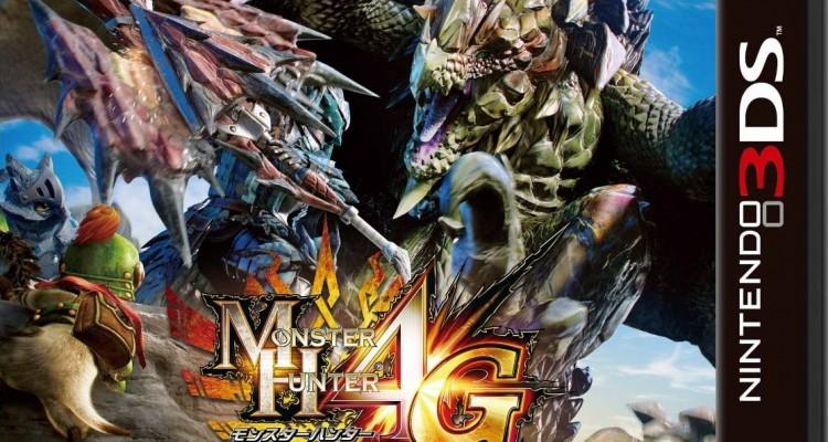 1407-14 Monster Hunter 4G Ultimate boxart