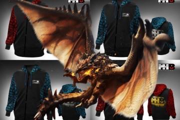 1407-14 Sudaderas Monster Hunter Rathalos