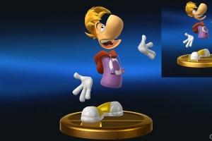 1407-16 Smash Bros. Rayman animación