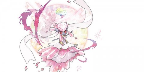 1407-25 Mega Diancie Pokemon Rubi Omega Zafiro Alfa 3DS1