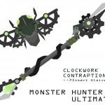 Clockwork Contraption, mecánica vara de insectos creada por un fan americano para Monster Hunter 4 Ultimate. Tráiler