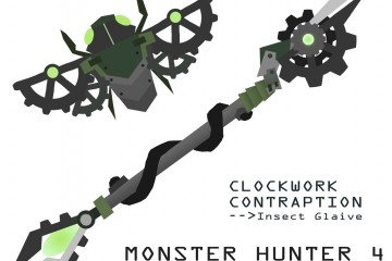 1407-27 Monster Hunter 4 Ultimate Clockwork Contraption