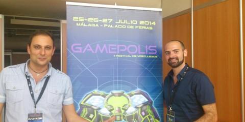1407-29 Gamepolis 2014 Entrevista Ubisoft Barcelona 1