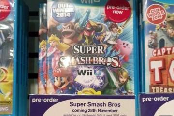 1408-10 Smash Bros. HMV Wii U
