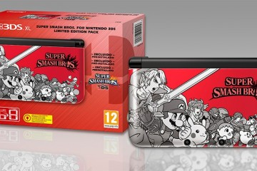 1408-12 Super Smash Bros. Edicion Limitada 3DS 1