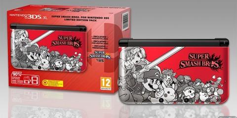 1408-12 Super Smash Bros. Edicion Limitada 3DS 1