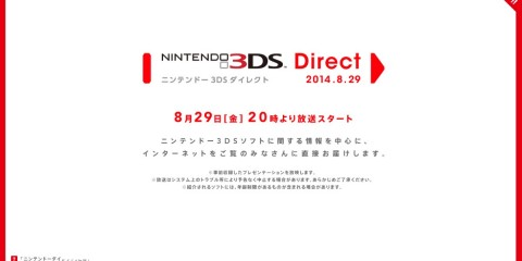 1408-28 Nintendo 3DS Direct