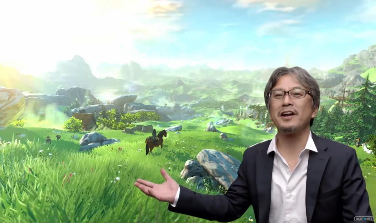 Zelda Breath Wild Wii U Aonuma