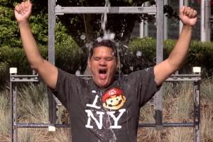 1408-30 Reggie Fils Aime Ice Bucket Challenge