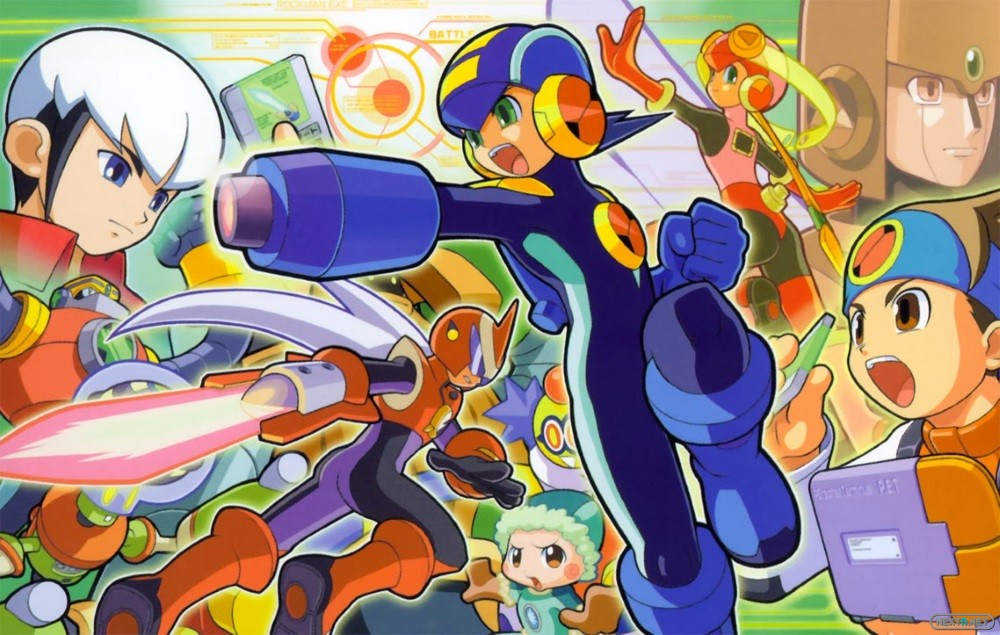 Megaman Battle network Wii U