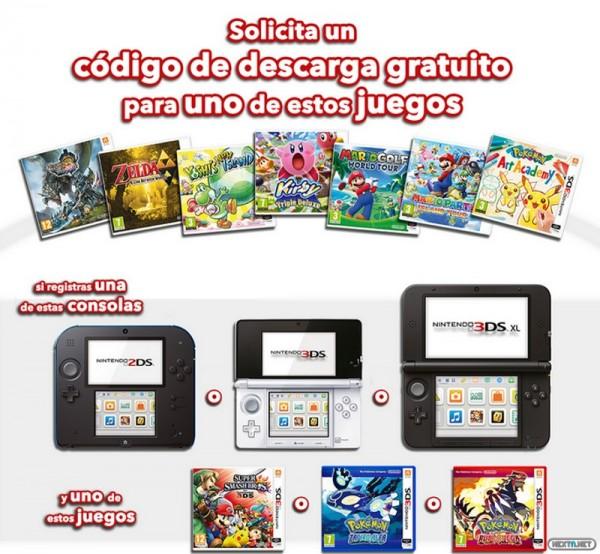 1409-11 Promo juego gratis 3DS