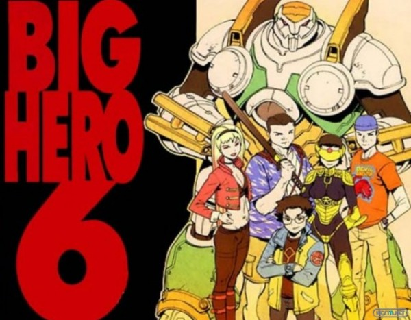 1409-16 BIg Hero 6 originales