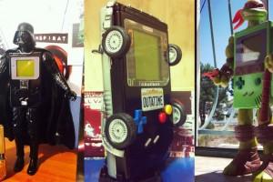 1409-27 Game Boy Vader DeLorean Tortuga