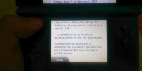 1409-30 Smash Bros 3DS actualización
