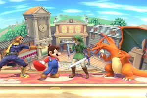 1409-30 Smash Bros bordes Wii U