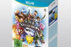 1410-07 Super Smash Bros. for Wii U con adaptador