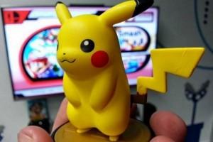1411-08 amiibo Pikachu