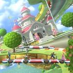 Super Smash Bros. for Wii U cabeza abajo a causa de la gravedad de Mario Kart 8