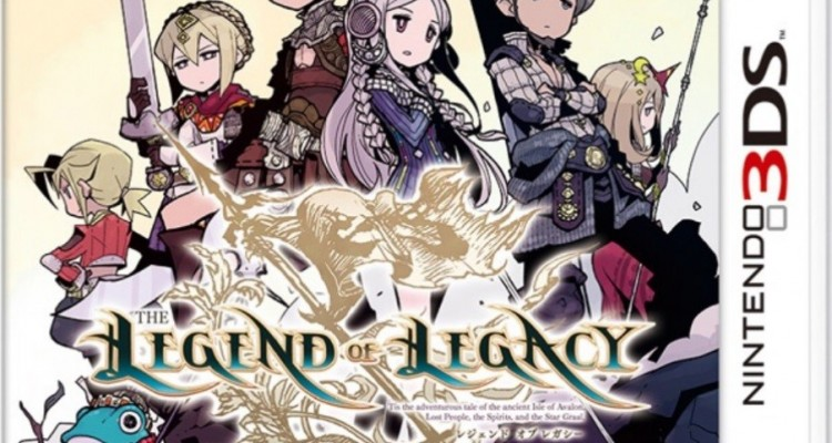 1411-14 The Legend of Legacy 3DS