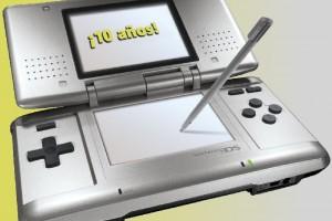 1411-21 10 Aniversario Nintendo DS 1