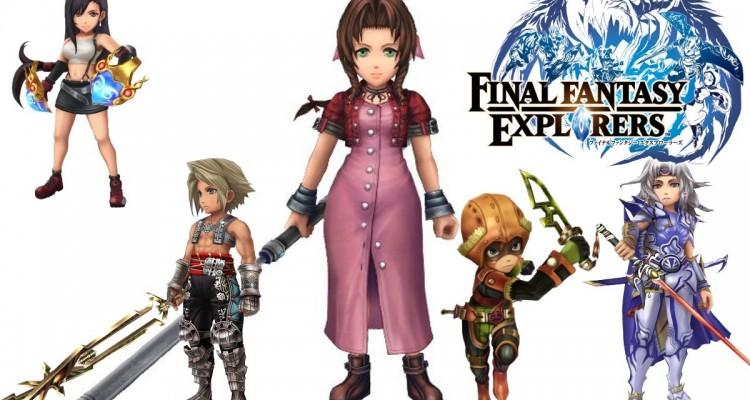 1411-26 Final Fantasy Explorers