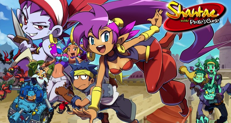 1412-29 Wallpapers Smash Shantae Wii U 3DS 2